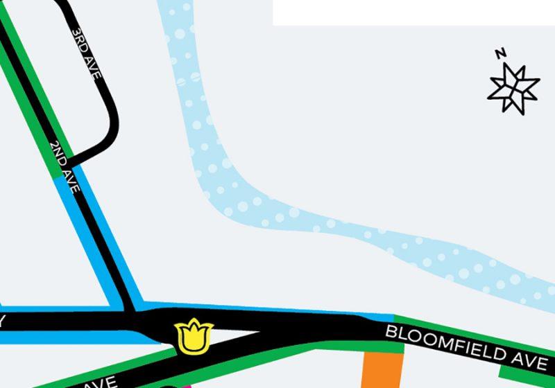 Downtown Denville Map
